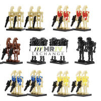 100x Star Wars Droid Army Mini Figures - Lego Compatible Battle Droids Bundle