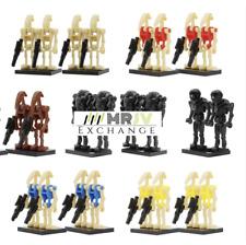 100x Droid Army Mini Figures - Lego Compatible Battle Droids Bundle