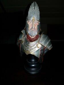 Sideshow Weta King Elendil Bust Herr der Ringe LOTR