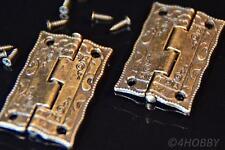 2 Antik-Scharniere für Schmuckkästchen 36mm Alt Antik, Schatulle Schatztruhe DIY