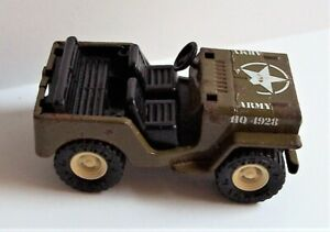 Vintage Buddy L Army Jeep Toy Made in Japan