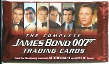 James Bond The Complete Factory Sealed Hobby Packet / Pack