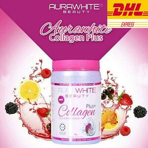 Aura White Beauty Plus Collagen New Improvement Natural Anti Anging Skin 1 Box