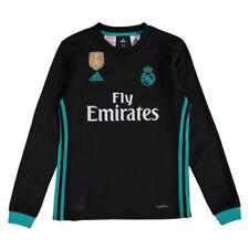 Camisetas de fútbol 2ª equipación de manga larga sin usada en partido