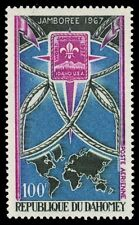 """DAHOMEY C59 (Mi323) - Idaho '67 World Boy Scout Jamboree """"Airmail"""" (pa41865)"""
