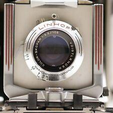 LINHOF technika 6,5x9 voigtlander Color Skopar 105 mm f1:3,5
