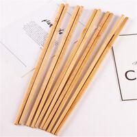 Baguettes chinoises de baguettes chinoises de bois ondulées réutilisa  IY PM