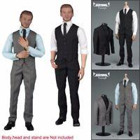 """1/6 Scale Gentleman Suit 2.0 Fashion Men Clothes Set For 12"""" Male Figure Body"""