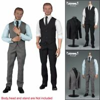 "1/6 Scale Gentleman Suit 2.0 Fashion Men Clothes Set For 12"" Male Body Hot Toys"