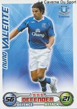 NUNO VALENTE # PORTUGAL EVERTON.FC SPORTING.CP CARD PREMIER LEAGUE 2009 TOPPS