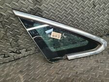 Vauxhall Astra J Drivers Side Offside Front right Quarter Glass Chrome, 5 Door