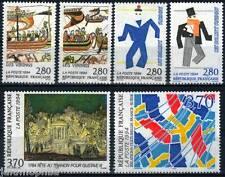 Y&T n° 2866 à 2871 de 1994 Relations culturelles France-Suède  NEUF **