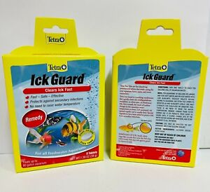 Tetra Ick Guard Fizz Tabs 8 tablets Clears ick fast   Free Shipping