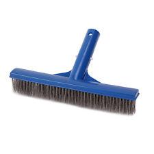 "10"" Stainless Steel Bristles Brush Swimming Pool Spa Algae Brush Cleaning Tools"