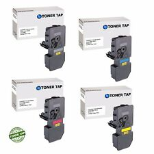 Toner Tap Compatible Replacement for Kyocera Ecosys P5021cdw, M5521cdw (4 Pack)