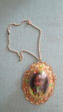 Rare Vintage Liddle Kiddles Lois Lucky Locket Necklace Little Chain Black Doll