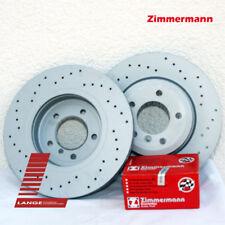 Zimmermann Sport Brake Discs + PADS AUDI A4 12 9/32In