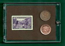 Halifax Bicentennial 1949 Canada Stamp and Coin Set