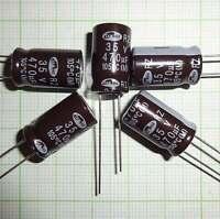 10 St. Elko Kondensator 470 µF 35V Stützkondensator Flackerschutz 10*16mm - E463