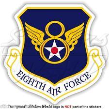 United States USAF Eighth AF Badge SAC, USAAF 8th Luftwaffe Abzeichen Aufkleber