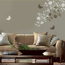 Blooming Branches Wall Stencil Kit- 2-piece - DIY Reusable Stencils - Not Decals