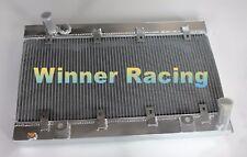 Fit Ferrari 328 GTB / 328 GTS 1985-1989 aluminum radiator 56mm 2 Rows