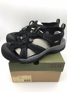 KEEN Men's Venice H2 Closed Toe Water Shoe - 1002325 Black Size 12