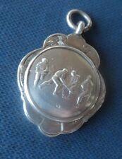 Medalla de plata Fob James Walker Streatham H/m 1938 Hockey/Shinty-no grabado