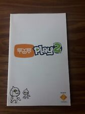 Playstation 2 ps2 livret eyetoy play 2