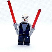 LEGO Minifigure Asajj Ventress Black Torso sw0318 Star Wars Jedi