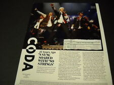 N Sync 15 years ago they soared Detailed look-back Music Biz Promo Display Page