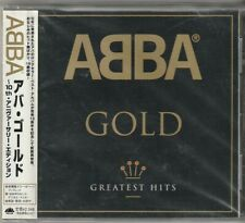 Abba Gold Greatest Hits Japan CD w/obi UICY3540