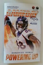 Denver Broncos Vs Kansas City Chiefs Program 2016 NFL SNF Demaryius Thomas