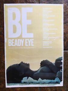 Beady Eye (liam gallagher) -  Uk Tour - Concert / Gig poster, November 2013