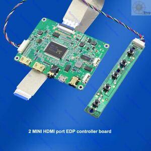 edp LCD controller board monitor kit for 2 mini HDMI 1920X1080 B156HAN04.2 panel