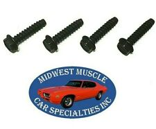 GM Windshield Wiper Motor Washer Fluid Pump Plastic Manifold Bolt Screws 4pcs QM