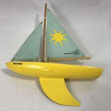 Vintage Wooden Sail Boat Dauntless Bosun By Reeves Sailing Boat Display or sail