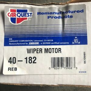 BLAZER-JIMMY-CHEVROLET-GMC TRUCK 1983-1991-  WIPER MOTOR  40-182. Cardone