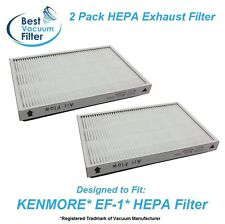 Two HEPA Exhaust Vacuum Filter for Kenmore EF1 replace 20-53295, 20-86889, 40324