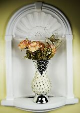 Italian Crystal Diamante Pearls Ceramic Flower Vase Home Decor
