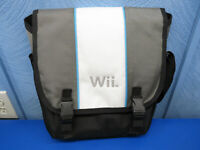 Official Nintendo Wii Console Carry Case Shoulder Travel Messenger Bag clean