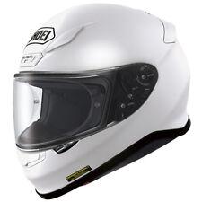 SHOEI NXR Plain Gloss White Motorcycle Helmet 531291 S