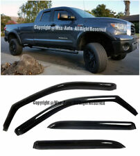 SIDE IN CHANNEL WINDOW VISORS FOR 2009-2017 RAM 1500 2500 3500 CREW CAB