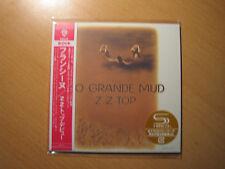 "ZZ TOP ""Rio Grande Mud"" Japan mini LP SHM CD"