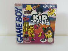 GB GAME BOY KID DRACULA PAL ITA COMPLETO GAMEBOY NINTENDO A BOX