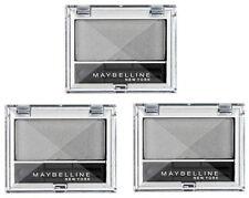 Maybelline Eyeshadow Eye Studio Mono 810 Silver Shadow Powder Makeup (3 PACK)