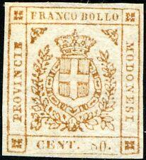 54/ 63 - Governo Provvisorio - Cent. 80 arancio bruno (