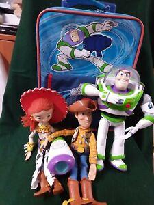Disney Toy Story Buzz Lightyear Suitcase + Doll + Woody + Jessie (2020)