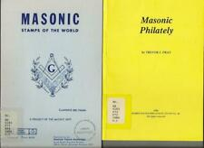 cb36 THEMATIC TOPICAL FREEMASON MASONIC STAMPS OF THE WORLD by T. Fray (4 books)