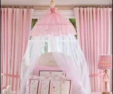 🔥 Pottery Barn Kids   Pink Ballerina Canopy Girl Princess RARE Excel Condition
